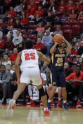 09 December 2017:  Byron Hawkins during a College mens basketball game between the Murray State Racers and Illinois State Redbirds in  Redbird Arena, Normal IL