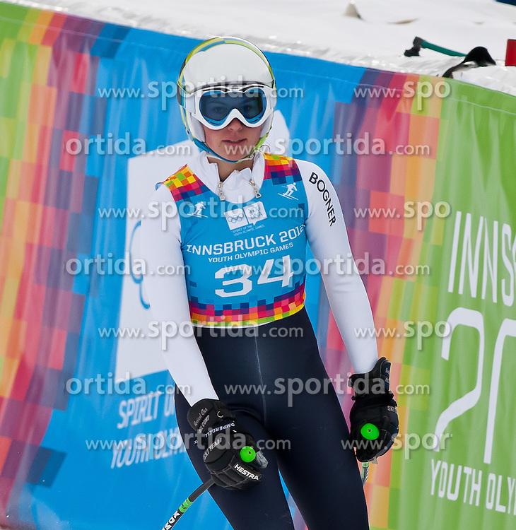 "14.01.2012, Patscherkofel, Innsbruck, AUT, Olympische Jugend Winterspiele, Ski Alpin, Super G, Damen, im Bild Jenny Reinold (GER) // Jenny Reinold (GER) during the Womens Super G of the Winter Youth Olympic Games at the ""Patscherkofel"", Innsbruck, Austria on 2012/01/14, EXPA Pictures © 2012, PhotoCredit: EXPA/ Juergen Feichter"