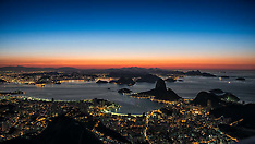 2014 Rio Sunrise from Corcovado