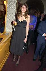 PRINCESS FLORENCE VON PREUSSEN at a private dinner and presentation of Issa's Autumn-Winter 2005-2006 collection held at Annabel's, 44 Berkeley Square, London on 15th March 2005.<br /><br />NON EXCLUSIVE - WORLD RIGHTS