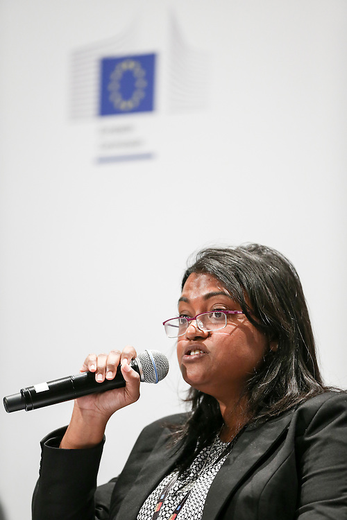 04 June 2015 - Belgium - Brussels - European Development Days - EDD - Citizenship - How can development cooperation effectively fight corruption and promote good governance? - Mariyam Shiuna , Executive Director , Transparency International © European Union