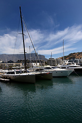 Cape Grace basin in Cape Town.
