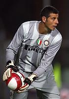 """Empoli 01/09/2007 Stadium """"Carlo Castellani"""" <br /> Empoli-Inter 0-1 Campionato Serie A 2007/2008 Matchday 2<br /> Nella foto:  Toldo (Inter)<br /> Foto Gianni Nucci Insidefoto"""