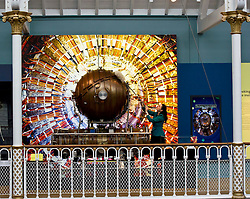 Pictured: Dr Tacye Phillipson, Senior Curator, finishes off the cleaning ofthe Accelerating cavity from CERN's large Electron Positron Collider<br /> <br /> The National Museum of Scotland will launch ten new galleries on 8 July following a £14.1 million redevelopment in their 150th year.  <br /> <br /> Ger Harley | EEm 5 July 2016