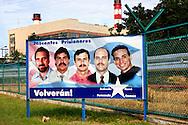 Volveran sign in Mariel, Artemisa, Cuba.