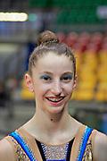 Serena Ottaviani atleta italiana di ginnastica ritmica, ha fatto parte della nazionale italiana juniores.