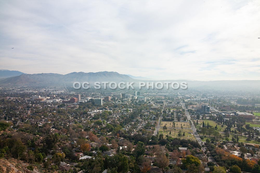 A View of Downtown Riverside Seen from Mt. Rubidoux