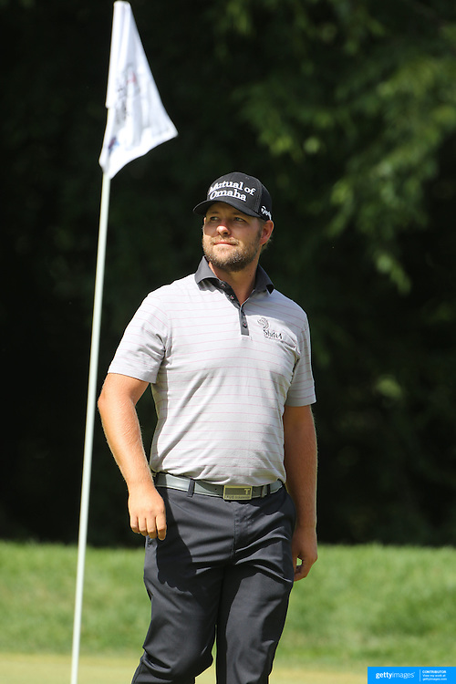 Ryan Moore, USA, in action during the third round of the Travelers Championship at the TPC River Highlands, Cromwell, Connecticut, USA. 21st June 2014. Photo Tim Clayton