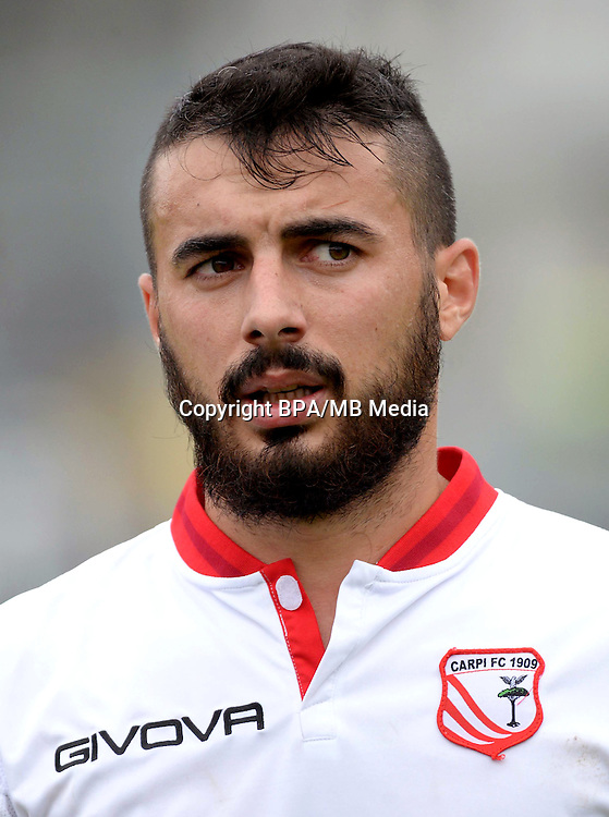 Italian League Serie B -2016-2017 / <br /> ( Carpi FC 1909 ) - <br /> Lorenzo Pasciuti