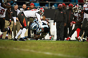 January 3, 2016: Carolina Panthers vs Tampa Bay Buccaneers. Funchess, Devin