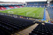 General view of Moss Rose Stadium. EFL Sky Bet Championship match between Blackburn Rovers and Birmingham City at Ewood Park, Blackburn, England on 26 December 2019.