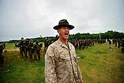 United State Marine Recruits train Thursday, April 19, 2012 Recruit Training Depot at Parris Island, S.C. (Photo/Stephen Morton)