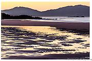 ocean beach sunset, whangarei heads