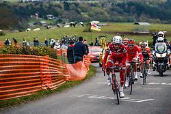 Rider of Team Katusha - Alpecin during the UCI WorldTour 103rd Liège-Bastogne-Liège from Liège to Ans with 258 km of racing at Cote de la Redoute, Belgium, 23 April 2017. Photo by Pim Nijland / PelotonPhotos.com | All photos usage must carry mandatory copyright credit (Peloton Photos | Pim Nijland)