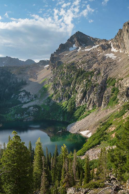 Alpine Lake Sawtooth Mountains Idaho