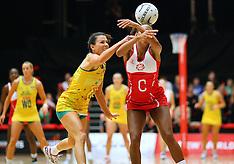 Tauranga-Netball, Quad Series, Australia v England