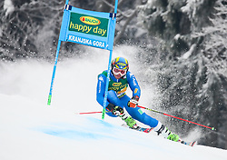 Roberto Nani of Italy competes during 1st run of Men's GiantSlalom race of FIS Alpine Ski World Cup 57th Vitranc Cup 2018, on March 3, 2018 in Kranjska Gora, Slovenia. Photo by Ziga Zupan / Sportida