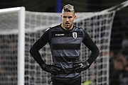 Alexandros Paschalakis of PAOK FC (31) warming up during the Champions League group stage match between Chelsea and PAOK Salonica at Stamford Bridge, London, England on 29 November 2018.