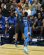Dallas Mavericks Vs. Oaklahoma City Thunder 2018
