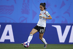 June 29, 2019 - Rennes, France - Sara Doorsoun (Vfl Wolfsburg) of Germany  in action during the 2019 FIFA Women's World Cup France Quarter Final match between Germany and Sweden at Roazhon Park on June 29, 2019 in Rennes, France. (Credit Image: © Jose Breton/NurPhoto via ZUMA Press)