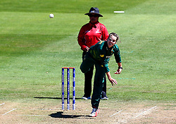 Dane van Niekerk of South Africa Women bowls - Mandatory by-line: Robbie Stephenson/JMP - 05/07/2017 - CRICKET - County Ground - Bristol, United Kingdom - England Women v South Africa Women - ICC Women's World Cup Group Stage