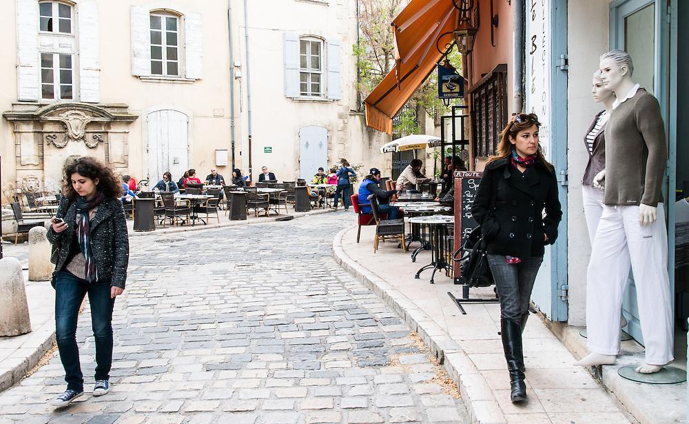 Lourmarin village, France.