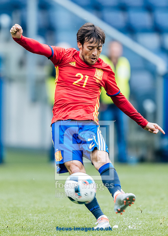 David Silva of Spain during the International Friendly match at Red Bull Arena, Salzburg<br /> Picture by EXPA Pictures/Focus Images Ltd 07814482222<br /> 01/06/2016<br /> ***UK &amp; IRELAND ONLY***<br /> (filename}