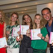NLD/Amsterdam/20130621 - Boekpresentatie Buskruit met Muisjes, Susan Smit, Nina Veeneman - Dietz, Noor Schutte - Kerckhoff, Marieke Wiegmans - Bremers en Richard Kempers