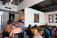 Taste Table, a restaurant on Auahi Street in the Kakaako District of downtown Honolulu, Oahu, Hawaii.  This restaurant features a different chef every day that it is open for lunch.