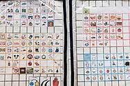 Milano, Italia - La tabella dei simboli che aiuta Leonardo a comunicare.<br /> Ph. Roberto Salomone