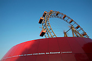 The Riesenrad (Ferris wheel) at the Prater, Vienna's famous luna park. Poetry by Ingeborg Bachmann.