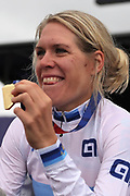 Ellen van Dijk (Netherlands) gold medal women Time Trial during the Road Cycling European Championships Glasgow 2018, in Glasgow City Centre and metropolitan areas Great Britain, Day 7, on August 8, 2018 - Photo Laurent Lairys / ProSportsImages / DPPI