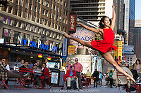 Times Square Dancer Sylvana Tapia- Dance As Art- The New York Photography Project.