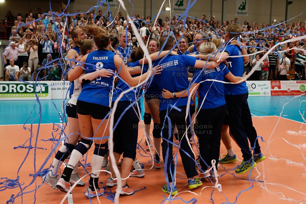 20180509 NED: Eredivisie Coolen Alterno - Sliedrecht Sport, Apeldoorn<br />Sliedrecht Sport Landskampioen Eredivisie Seizoen 2017 - 2018<br />©2018-FotoHoogendoorn.nl