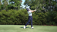 Cameron Smith<br /> Face on swing sequence <br /> 2018<br /> <br /> Golf Pictures by Mark Newcombe/visionsingolf.com