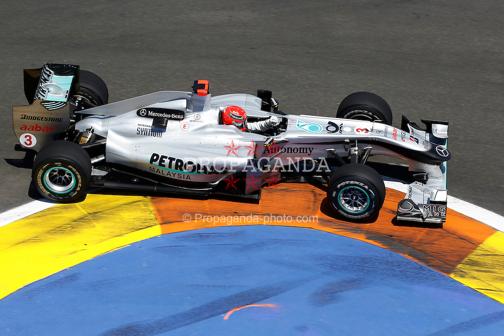 Motorsports / Formula 1: World Championship 2010, GP of Europe, 03 Michael Schumacher (GER, Mercedes GP Petronas),