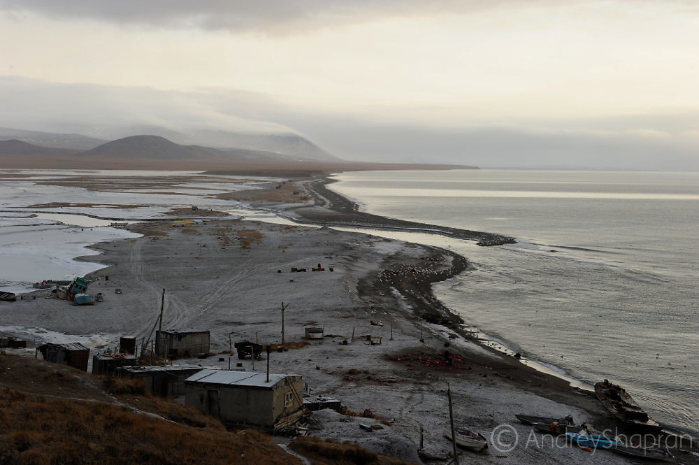 The Chukotka Peninsula nature in the autumn of 2015.