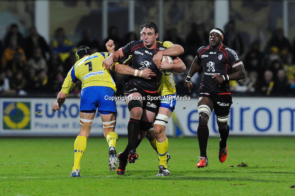 Louis Picamoles - 04.01.2015 - Clermont / Toulouse - 15eme journee de Top 14 - <br /> Photo : Jean Paul Thomas / Icon Sport