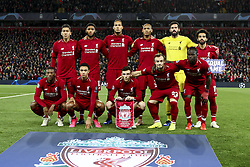 October 24, 2018 - Liverpool, England, United Kingdom - Liverpool team pose in order to be photographed before the Uefa Champions League Group Stage football match n.3 LIVERPOOL - CRVENA ZVEZDA on 24/10/2018 at the Anfield Road in Liverpool, England. (Credit Image: © Matteo Bottanelli/NurPhoto via ZUMA Press)