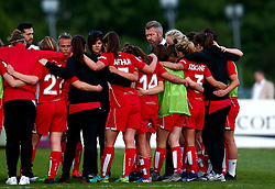 Willie Kirk manager of Bristol City Women leads the post match huddle - Mandatory by-line: Robbie Stephenson/JMP - 31/05/2017 - FOOTBALL - Stoke Gifford Stadium - Bristol, England - Bristol City Women v Chelsea Ladies - FA Women's Super League Spring Series