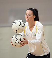 Tauranga-Netball, Quad Series, Australian Netball Diamonds Training