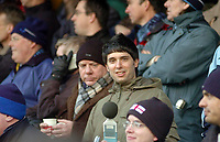 Photo: Leigh Quinnell.<br /> Wycombe Wanderers v Shrewsbury Town. Coca Cola League 2. 11/03/2006. Reporter Nic Brunelti checks the noise in the crowd.