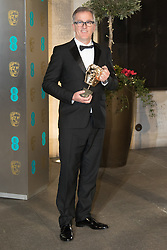 Photo Must Be Credited ©Alpha Press<br /> Luke Davies arrives at the EE British Academy Film Awards after party dinner at the Grosvenor House Hotel in London.