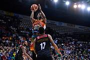 Dyshawn Pierre of Banco di Sardegna Sassari   <br /> Umana Reyer Venezia - Banco di Sardegna Sassari<br /> Postemobile Final Eight 2019 Zurich Connect<br /> Basket Serie A LBA 2018/2019<br /> FIRENZE, ITALY - 15 February 2019<br /> Foto Mattia Ozbot / Ciamillo-Castoria
