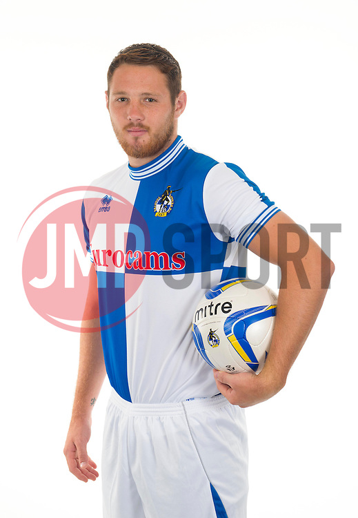 Bristol Rovers' Tom Parkes - Photo mandatory by-line: Joe Meredith/JMP - Tel: Mobile: 07966 386802 12/08/2013 - SPORT - FOOTBALL - Bristol - Memorial Stadium -  Bristol Rovers - Team Photo - Npower League Two