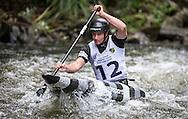 Callum Aitken, mens C1, NZ Open kayaking, Managhao, New Zealand. Saturday, January 21, 2017. Copyright photo: John Cowpland / www.photosport.nz