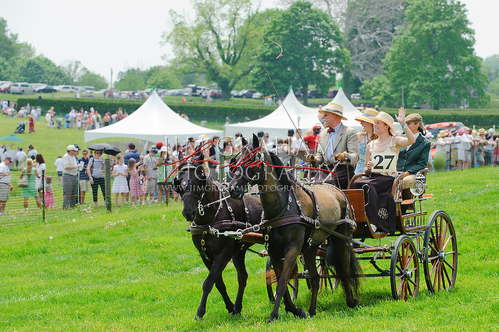 At the Winterthur Point to Point Races in WInterthur Delaware, 2 May 2010. (Photograph © Jim Graham  2010)