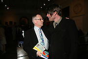 ALEX JAMES, JEFFREY ARCHER . Royal  Academy of  Arts summer exhibition opening night. Royal academy. Piccadilly. London. 6 June 2007.  -DO NOT ARCHIVE-© Copyright Photograph by Dafydd Jones. 248 Clapham Rd. London SW9 0PZ. Tel 0207 820 0771. www.dafjones.com.