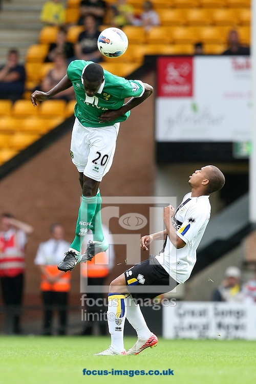 Leon Barnett of Norwich in action during a pre season friendly at Carrow Road Stadium, Norwich...Picture by Paul Chesterton/Focus Images Ltd.  07904 640267.6/8/11