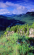 Sun River Game Range in spring. Bob Marshall Wilderness Area, Lewis and Clark National Forest, Montana.